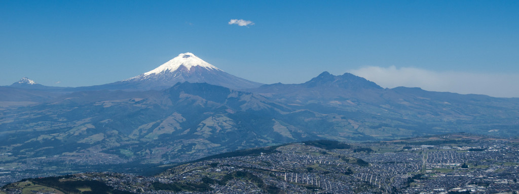 Andes Mountains feature on our tours to Quito and Ecuador