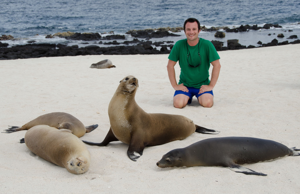 Luxury-Travel-Family-Nature-Tour-To-Ecuador-Galapagos-Islands-Cruise-Wildlife-Up-Close-And-Personal-With-Sealions