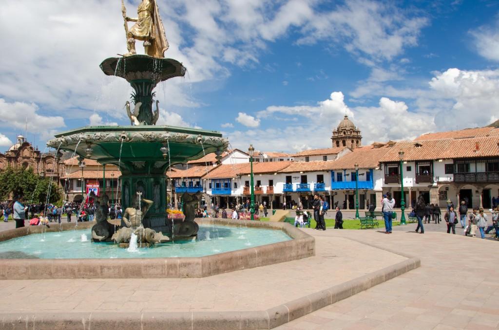 colonial city in peru