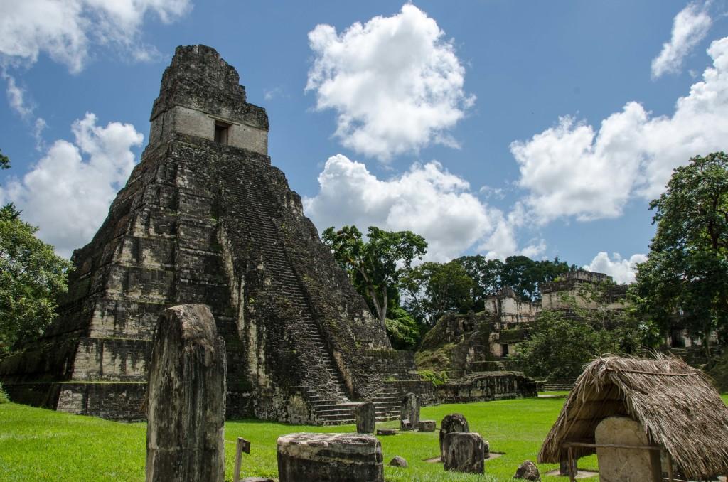 mayan temples in Guatemala