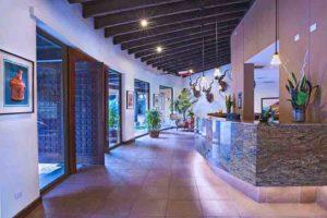 The Stylish Lobby at Las Lagunas