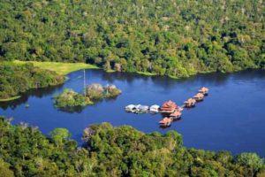 Uacari's Remote Amazon Setting